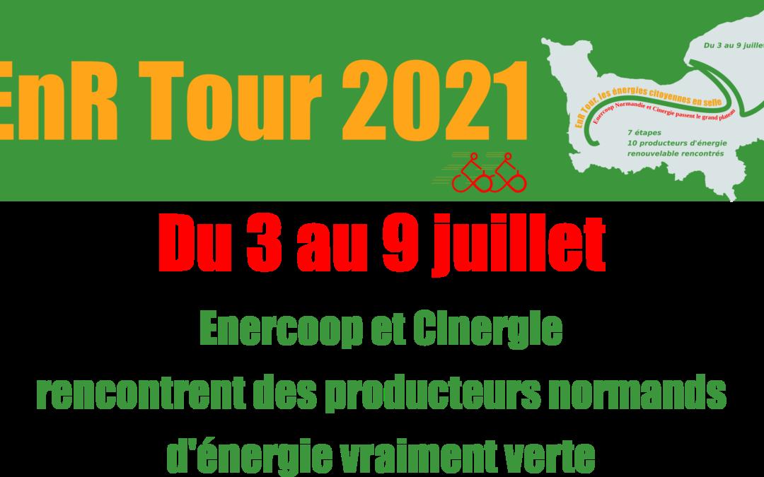 EnR Tour 2021 : les étapes